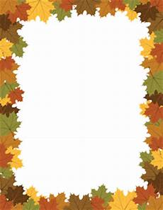 Free Fall Borders For Word Free Fall Borders Clip Art Page Borders And Vector Graphics