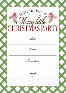 Design Printable Invitations Free Printable Christmas Party Invitation Moritz Fine