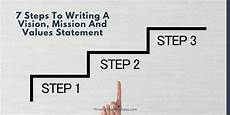 How Do You Write A Personal Mission Statement 7 Steps To Writing A Vision Mission And Values Statement
