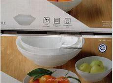 Mikasa Swirl Bone China Bowl Set