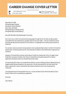 Career Cover Letters How To Write A Persuasive Career Change Cover Letter