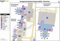 Ltai Airport Charts Antalya International Airport Ltai Ayt Airport Guide