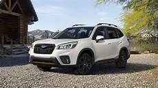 2019 subaru forester photos 2019 subaru forester sports modest base price bump