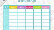 Free Weekly Schedule Template 35 Schedule Templates Free Amp Premium Templates
