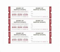 Draw Ticket Template 19 Sample Printable Raffle Ticket Templates Psd Ai