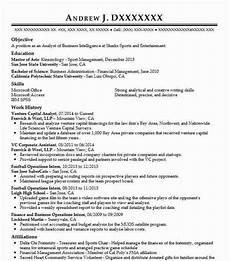 Venture Capital Resume Sample Venture Capital Analyst Resume Sample Analyst Resumes
