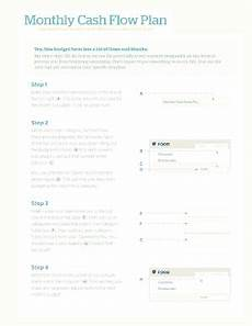Monthly Cash Flow Plan Monthly Cash Fill Online Printable Fillable Blank