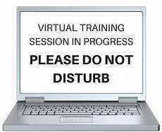 Training In Progress Sign Please Do Not Disturb Sign Huggett