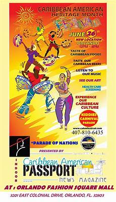 Caribbean American Heritage Month Cahm Festival Caribbean American Heritage Month Festival