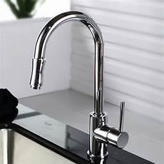 Kraus Kitchen Faucet Kraus Single Handle Pull Kitchen Faucet Set With