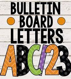 Letters For Bulletin Boards Templates Free Free Printable Bulletin Board Letters Just Print What