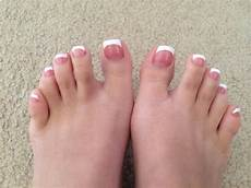 French Tip Toe Designs French Manicure Toes Lucky Nails Amp Spa 2 French