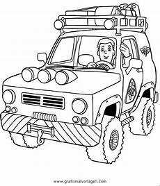 feuerwehrmann sam 15 gratis malvorlage in comic