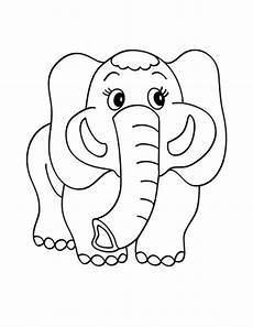 Elephant Printable Print Amp Download Teaching Kids Through Elephant Coloring