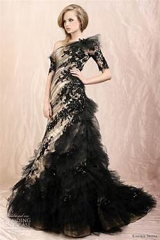 beautiful black wedding gowns have your dream wedding