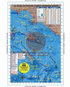 Baja Charts La Orange County Offshore Banks Baja Directions