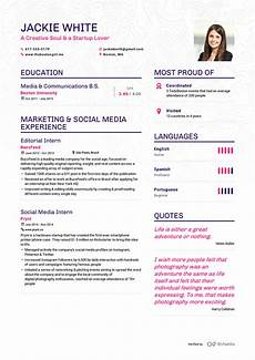 A Sample Of A Good Resume Examples Of Resumes By Enhancv