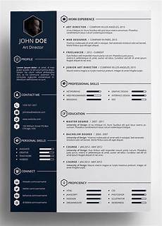Creative Word Cv Templates 10 Best Free Resume Cv Templates In Ai Indesign Word