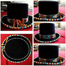 top hats beaded hat bands american beading