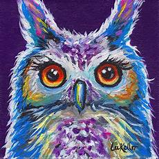 Colorful Owl Art Colorful Owl Art Print Owl Art Print Colorful Owl Prints
