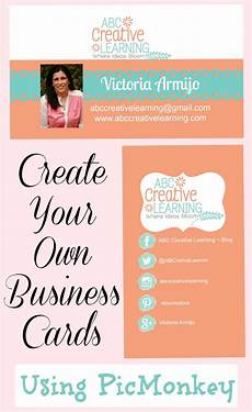 Make Your Own Business Gift Cards Easily Create Your Own Business Cards Using Picmonkey