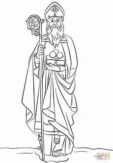 Ausmalbilder Bischof Nikolaus St Nicholas Coloring Page Free Printable Coloring Pages