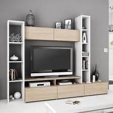 meuble tv et rangement pour meuble tv blanc avec rangement mobilier design