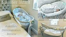 summer infant by your bed sleeper assembly