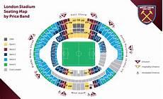 Olympic Stadium London Seating Chart Hammers Publish London Stadium Seating Plan Claretandhugh