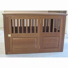 classic pet beds solid wood pet crate wayfair