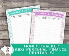 Money Tracker Money Tracker For Kids Childrens Personal Finance Money