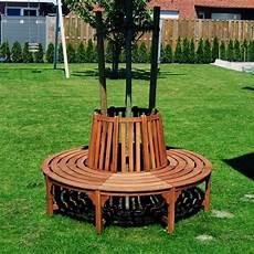 panchina per giardino panchina circolare in legno da giardino per giro albero