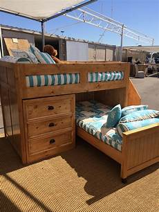 palm desert junior loft bunk bed with stairs alley