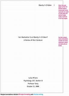 Title Page Outline Sample Apa Paper Essay Outline Sample Essay Format Apa