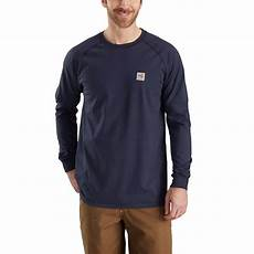 fr sleeve shirts for carhartt s regular medium navy fr cotton