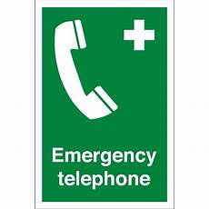 Emergency Contact Sign First Aid Emergency Telephone Signs From Key Signs Uk