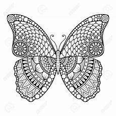Malvorlage Schmetterling Mandala Stock Photo Mandala Tiere Mandala Ausmalen