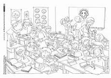 Ausmalbilder Grundschule Klasse 1 Schule Und Kita Klassenzimmer Gef 252 Hle Miteinander