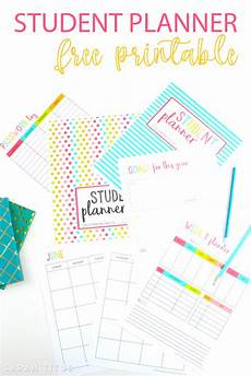 Free Printable School Planner Free Printable Student Planner 46 Pages Titus