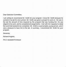 Reference Letter Sample For Job Job Recommendation Letter 9 Free Documents In Word Pdf