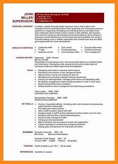 Describe A Leadership Experience 9 10 Leadership Experience Resume Examples