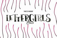 Girl Fonts 10 Gorgeous Hand Made Script Fonts From Bonjourtype Only