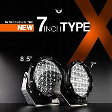 Type X Lights Stedi Type X 7 Quot Led Driving Lights Pair Lights