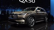 2019 Infiniti Turbo by 2019 Infiniti Qx50 Debuts With A Sculpted Design Vc Turbo