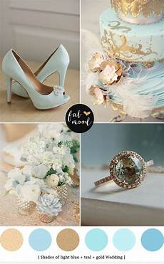 light blue and gold wedding colors wedding colors gold