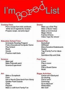 Fun Babysitting Ideas Endless Crafting Printables Summer Activities Bored List