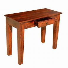 Rustic Wood Sofa Table 3d Image by Rustic Solid Wood Entry Sofa Console Table With Drawer