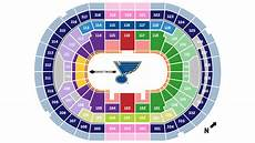 St Louis Blues Seating Chart View Seat Locator Enterprise Center
