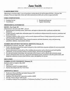 Resume Professional Objective Advanced Resume Templates Resume Genius