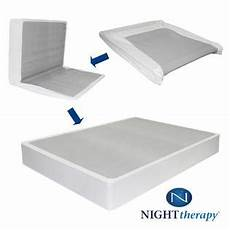 therapy 8 inch memory foam mattress and bi fold box